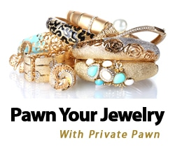 Pawn your Arizona jewelry privately with Private Pawn's brokers