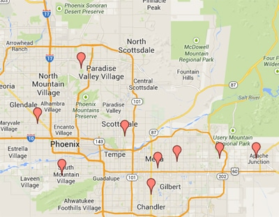 Private Pawn 9 Valley Locations in Arizona