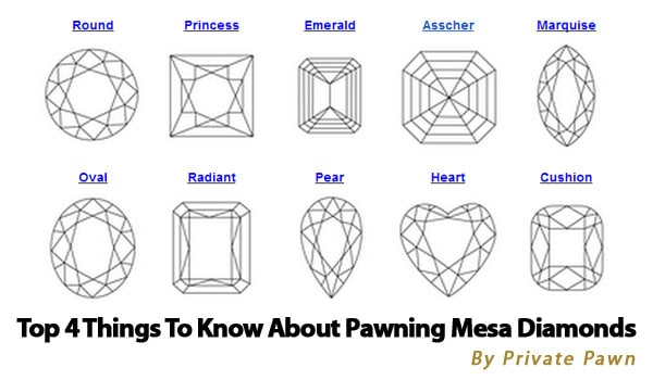 Things to Know About Pawning Diamonds in Mesa