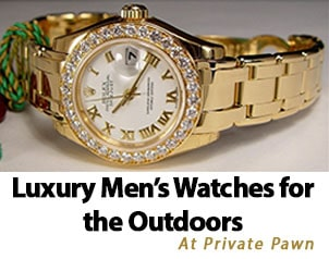 Luxury Men's Watches for the Outdoors
