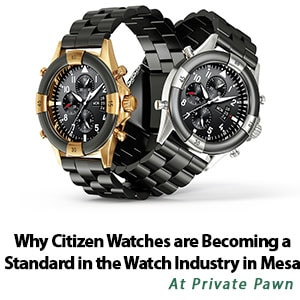 Why Citizen Watches are Becoming a Standard in the Watch Industry in Mesa