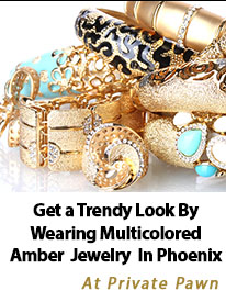 Get a Trendy Look By Wearing Multicolored Amber Jewelry In Phoenix