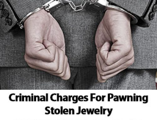 Chandler Criminal Charges For Pawning Stolen Jewelry